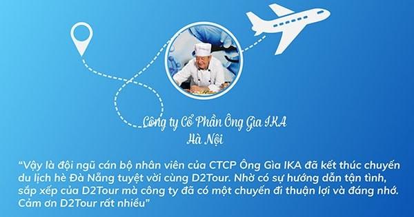 Tour Đà Nẵng 4 ngày 3 đêm từ Hà Nội bằng máy bay