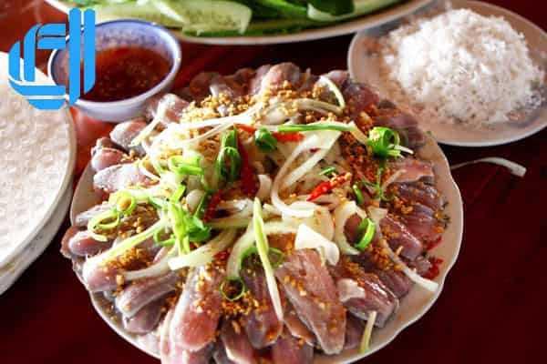 Gỏi cá trích Nam Ô - độc đáo món gỏi xứ biển Đà Nẵng