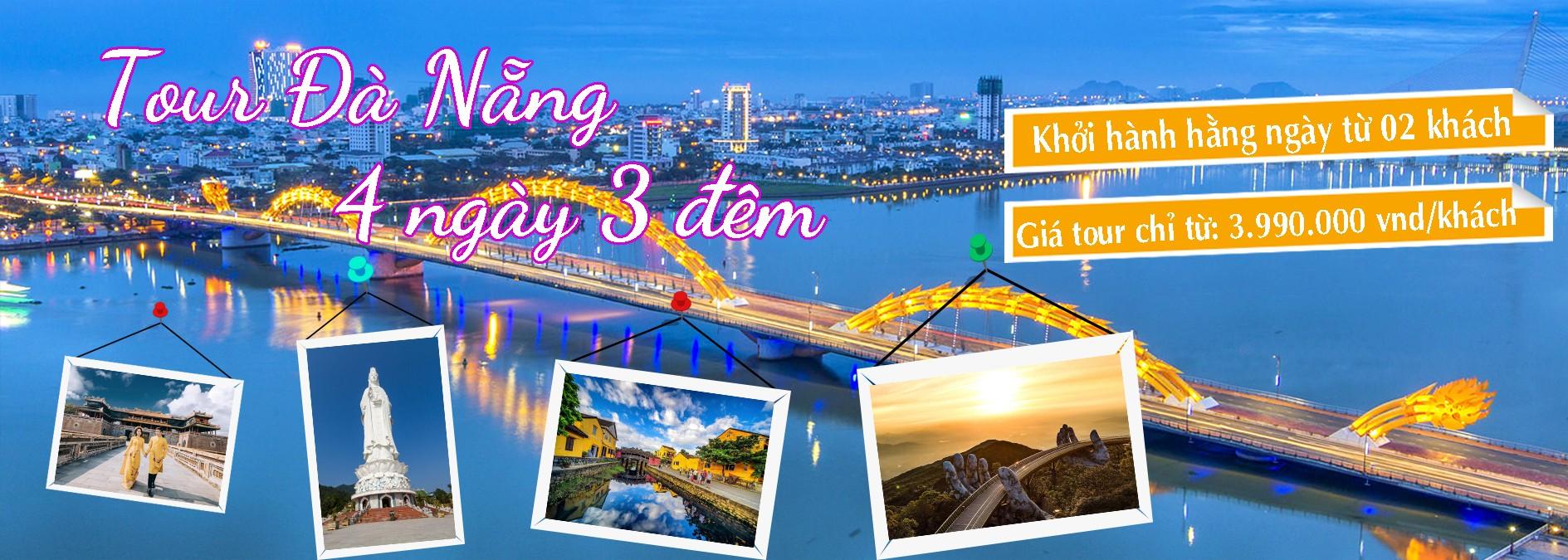 Tour Da Nang 4 ngay 3 dem